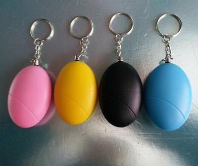 Portable Self Defense Keychain Personal Alarm Emergency Siren Survival Whistle