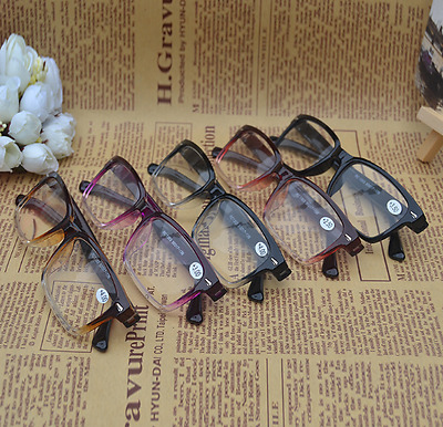 +1 +1.5 +2 +2.5 +3 +3.5 +4.0 Retro Reading Glasses Hanging Unisex Ultra Light