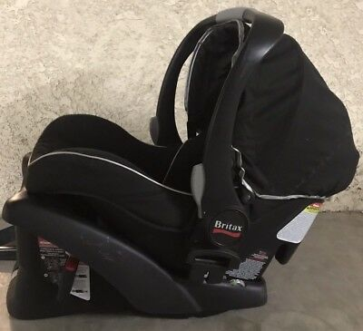 BRITAX B-Safe Black Infant Rear Facing Car Seat 4-30lbs With Base 2013