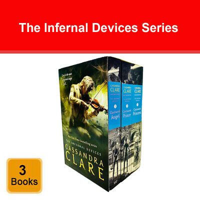 Infernal Device series Cassandra Clare 3 books collection box set pack NEW BRAND