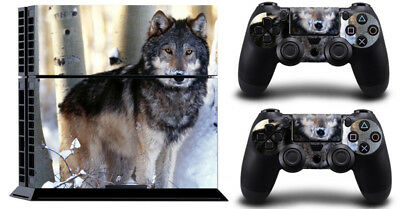 Wolf NT0063 DECAL SKIN PROTECTIVE STICKER for SONY PS4 CONSOLE CONTROLLER