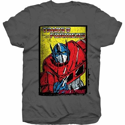 Transformers Hasbro Optimus Prime Comic T Shirt OFFICIAL LICENSED MERCHANDISE