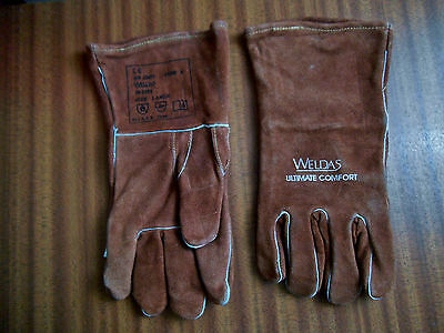 Pr. Weldas Ultimate Comfort ~ Welding Gloves ~ Size Large.