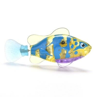 Fish Robo Toy Battery Robofish Powered Activated Robotic Swimming Fashion Pet