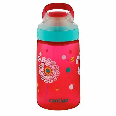 Contigo AUTOSEAL Gizmo Sip Kids Water Bottle 14oz Cherry Blossom Pink No-Spill
