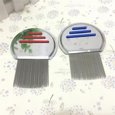 Hair Lice Brushes Nit Free Terminator Fine Egg Dust Removal Stainless Steel Comb