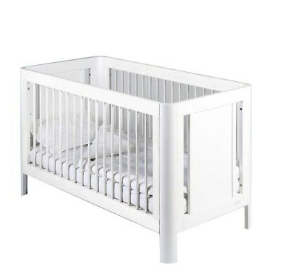 Troll Sun Baby Cot White with mattress