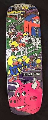 Street Plant Deck Mike Vallely Barnyard 9.5 Purple Stain w/ FREE T-SHIRT