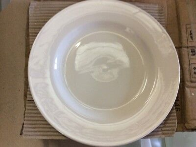 """30 x White Wide Rimmed Plate 11"""" Plates Professional Hotelware BS4034 Joblot"""