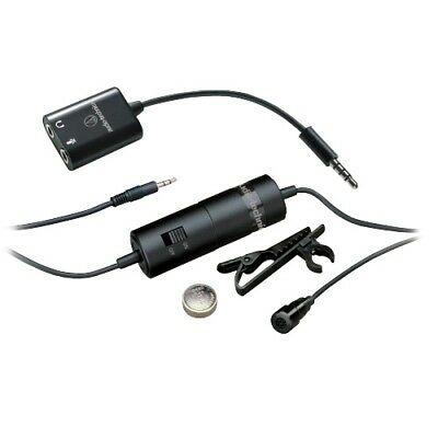 Audio Technica -Pro Sound Atr-3350Is Lavalier Omni Condenser Mic