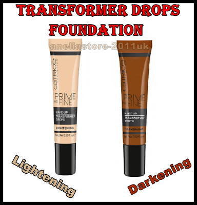 Catrice Cosmetics Prime and Fine Make Up Foundation Transformer Drops
