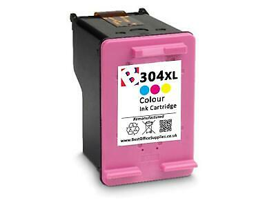 Remanufactured 304 XL Colour Ink Cartridge Combo fit HP Deskjet 2620 All-In-One