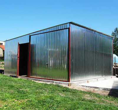 Metal Garage / Steel Building / Shed, Workshop, Warehouse SPARTA XXL custom made