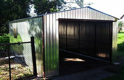 "Metal Garage / Steel Building / Shed / Workshop / Warehouse ""SPARTA"" custom made"