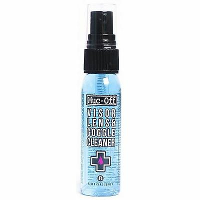 Muc-Off Motorcycle Bike Helmet Visor Goggles Lens Cleaner 30ml