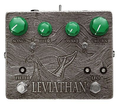 Triode Pedals Leviathan Resonant Filter And LFO Guitar Pedal