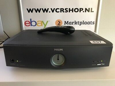 Philips VR969 Turbo Drive RS 232 Computer Interface + Remote - SVHS