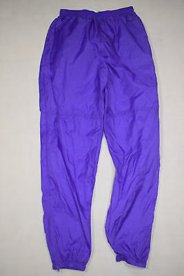Nike Trainings Hose Jogging Sport Track Pant Vintage Nylon Shiny Glanz M (10-12)