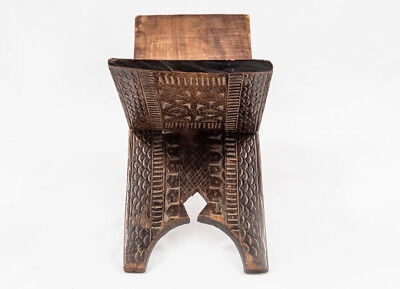 Islamic Antique Ottoman Turkish Koran Quran Ornamented Wooden Mulberry Stand,19C