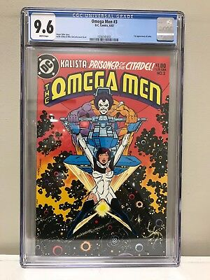 The Omega Men #3 Cgc 9.6 Nm! High Grade! White Pages! First Appearance Of Lobo!