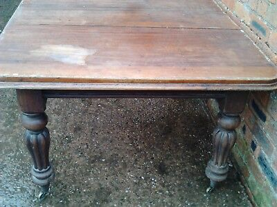 Victorian Extending Dining Table Mahogany ? Delivery available.