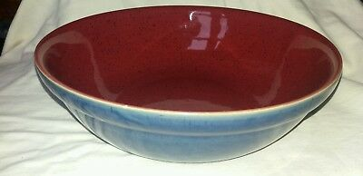 Denby Harlequin 11.5 Inch Large Pasta/salad Serving Bowl