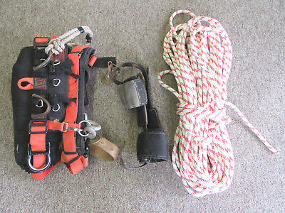 Climbing Gear, Rope, Harnass and Spikes