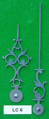 Antique clock hands from original design (Longcase clock) LC6 *MADE IN ENGLAND*