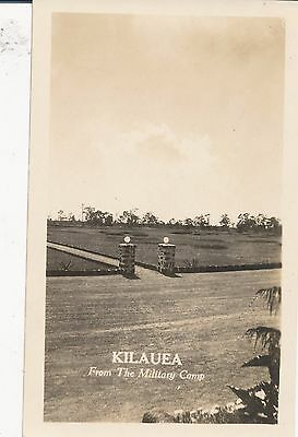 1940 Kilauea Volcano Hawaii  Photo #8  view from KMC, Kilauea Military Camp