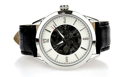 Lucien Piccard White Skeleton Dial Automatic Men's Watch $895