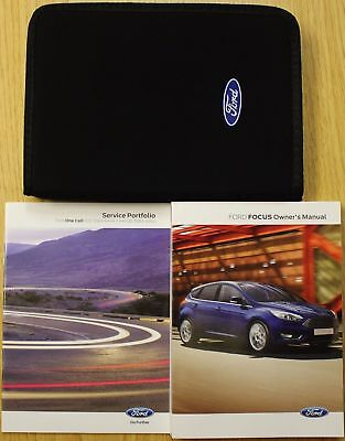 genuine ford focus handbook owners manual wallet service book 2014 rh picclick co uk Ford Ka Size Ford Ka Plus