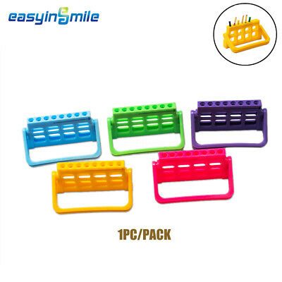 8 Hole EASYINSMILE Dental Endodontic File Dispenser Drill Stand holder Block 1Pc