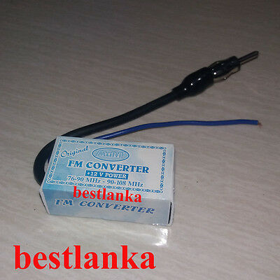 FM Band Frequency Expander Converter Japan Car Radio 76-90Mhz To 88 - 108 Mhz