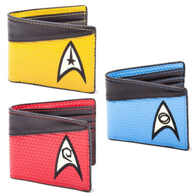 Star Trek Enterprise The Next Generation Crew Uniform Farben Geldbeutel Wallet