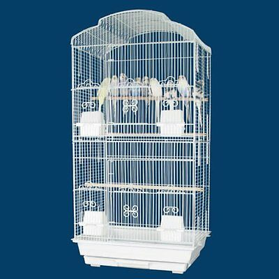 Large Tall Canary Parakeet Cockatiel LoveBird Finch Cage For Small Birds - 690