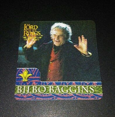 Bilbo 3D Herr der Ringe Trading Card Lord of the Rings 2002
