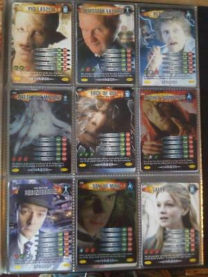 Doctor Who Battles in Time Invader Complete 209 CCG Card Set ---- NO BINDER