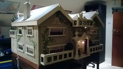 Renovated largeDolls House approximately 3ft x 3ft square x 4ft high