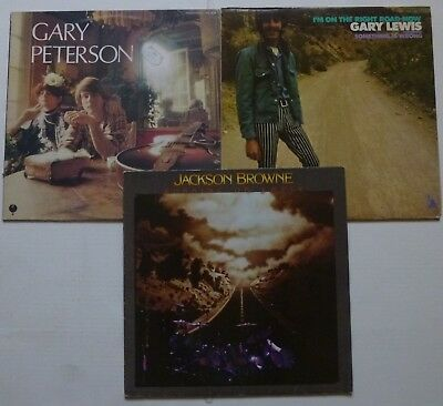 Lot de 3 LP Rock, Folk, Blues