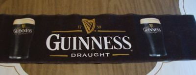Advertising Guinness Draught Bar Top Runner One of a Kind Beer Collectible