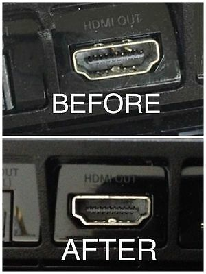 PlayStation 4 HDMI Port Replacement PS4 WLOD No Video Repair 6 Month Warranty!