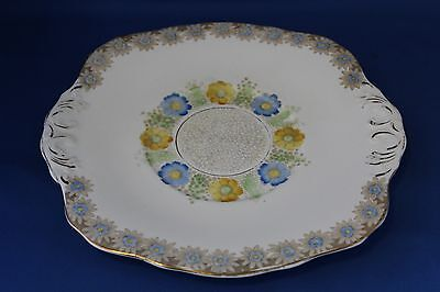 Excellent Sutherland China Art Deco Style Cake Plate