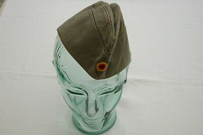 1977 Vintage West German Military Forage/Side Cap Albert Kempf KG Size 58