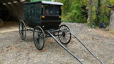 Horse Drawn Carriage, horse carriage, horse buggy carriage Amish  Sleigh