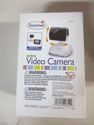 Summer Infant 29310 Extra Camera for Touchscreen Digital Baby Monitor
