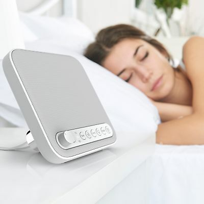 Sleep Therapy Sound Machine White Noise Relaxing Sound Soothing Babies Sounds US