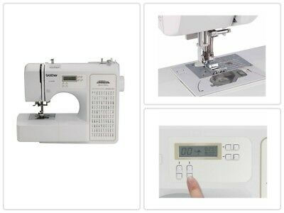 Brother Electric Sewing Machine 100-Stitch Project Runway Computerized Tailor