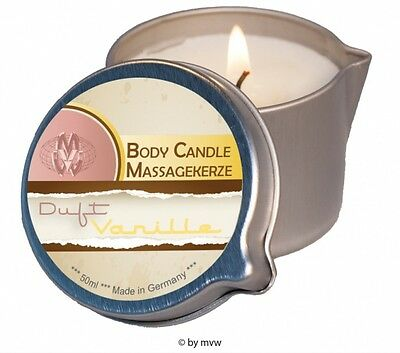 Body Candle Massagekerze Vanille