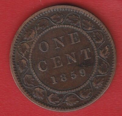 Canada 1 Cents 1859