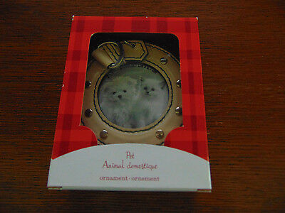 Pet Frame American Greetings Ornament Photo Round Small Hang